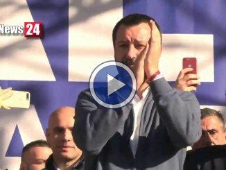Matteo Salvini, da Piazza del Popolo, questo Governo durerà cinque anni