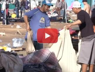 Carovana migrante in Messico, il video delle migliaia di nuovo sfollati