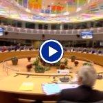 Bruxelles, un minuto di silenzio per le vittime di Strasburgo