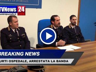 Tentano di rubare auto in ospedale a Perugia dopo visita medica VIDEO