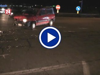 Video dell'incidente stradale a Ospedalicchio di Bastia Umbra