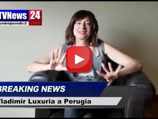 Vladimir Luxuria a Perugia per due giorni, 11 e 12 gennaio il video di altre presentazioni