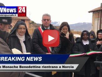 Le monache benedettine fanno rientro a Norcia dopo terremoti 2016