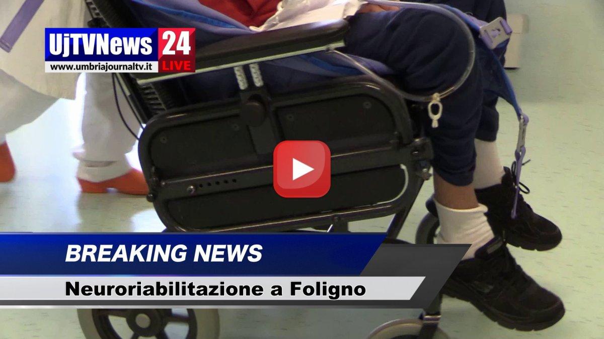 Ospedale Foligno, ricerca nazionale sulla neuroriabilitazione, il video