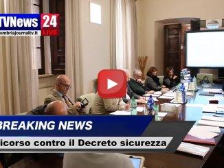 Decreto sicurezza, la Giunta Marini ricorre alla Corte Costituzionale