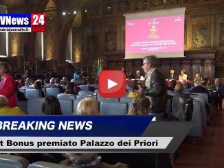 Art Bonus, Palazzo dei Priori di Perugia premiato alla sala dei Notari