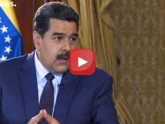 """Maduro: """"Europa piegata a Trump, sta commettendo un errore"""""""