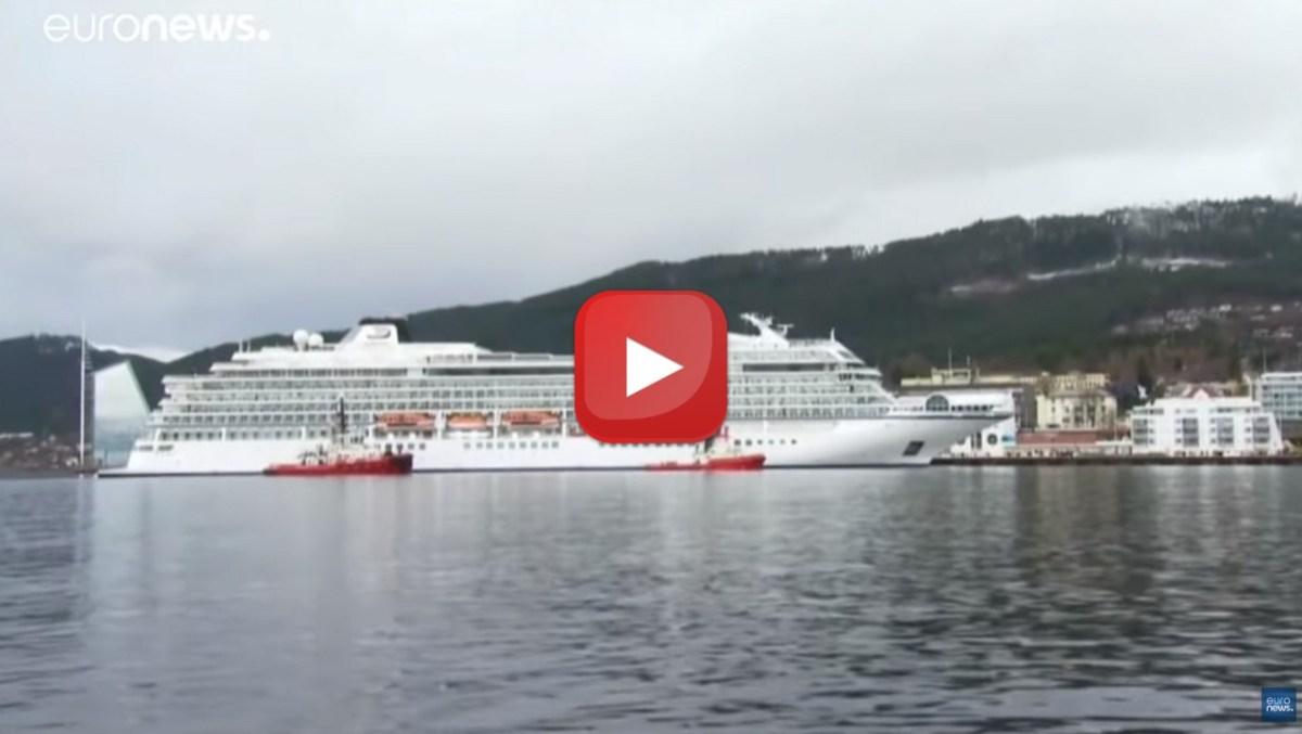 Crociera da incubo sui fiordi norvegesi, video racconto dei passeggeri