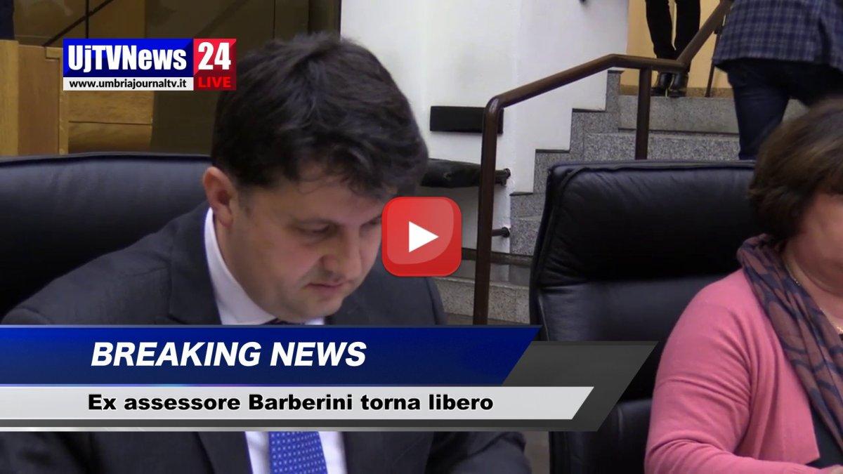 Barberini torna libero, gip revoca arresti domiciliari