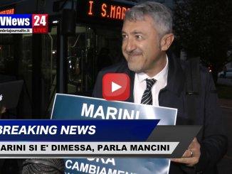 Catiuscia Marini si è dimessa, parla il consigliere Mancini