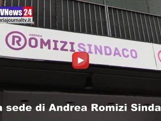 Video intervista ad Andrea Romizi sede elettorale a Fontivegge