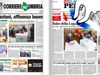 Europee, balzo in avanti della Lega, Peppucci la più votata in Umbria dopo Salvini