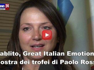Mostra dei trofei di Paolo Rossi, parla la moglie Federica Cappelletti