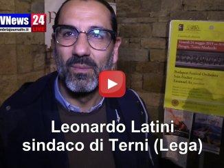Leonardo Latini, sindaco di Terni, sulla vittoria di Andrea Romizi