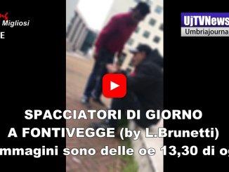 Spacciatori di giorno a Fontivegge video girato da Lorenzo Brunetti