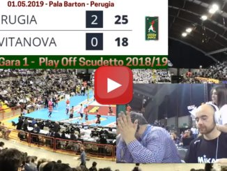 Volley, Perugia e Civitanova, gara 1, segui la diretta streaming