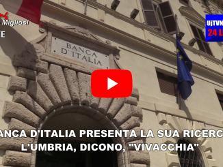 Umbria cresce meno che l'Italia, accelerano esportazioni, video intervista. Lo dice Banca d'Italia