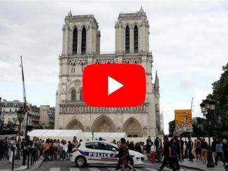 Rogo di Notre-Dame a Parigi in Francia, non fu atto criminale