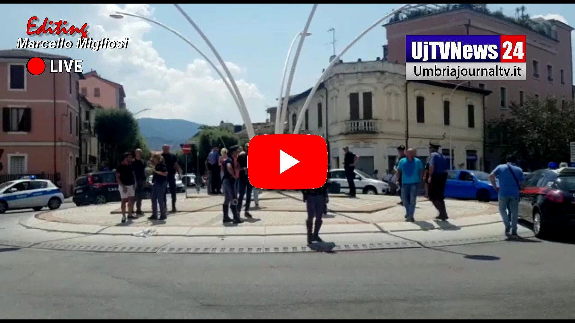 Fermato per controllo spara ad un Carabiniere a Terni, non è grave |Video