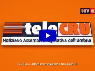 Telecru l'informazione notiziario televisivo assemblea legislativa dell'Umbria