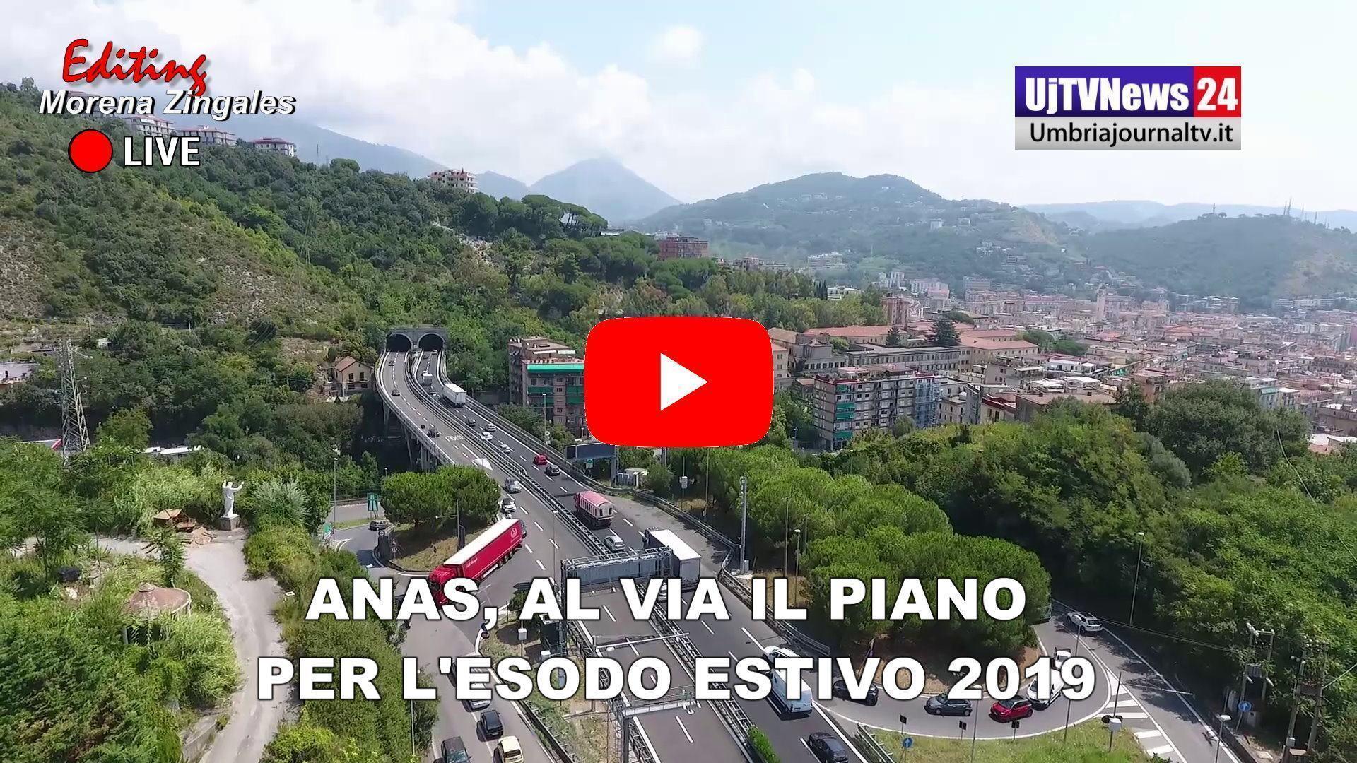 Anas, al via il piano Esodo 2019 sulla rete stradale
