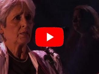 L'ultimo tour della pasionaria Joan Baez, il video del concerto