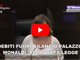 Debito fuori bilancio Palazzo Monaldi, consiglio approva legge
