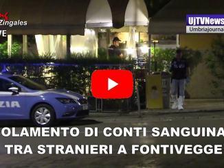 Regolamento di conti sanguinario a Perugia, in via Cortonese