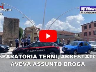 Sparatoria a Terni, lo straniero arrestato aveva assunto droga