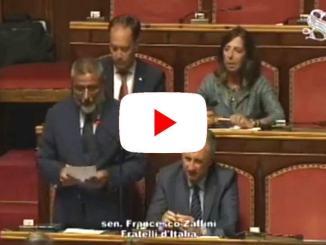 Franco Zaffini, FdI, bacchettate al Premier Conte, e i terremotati?