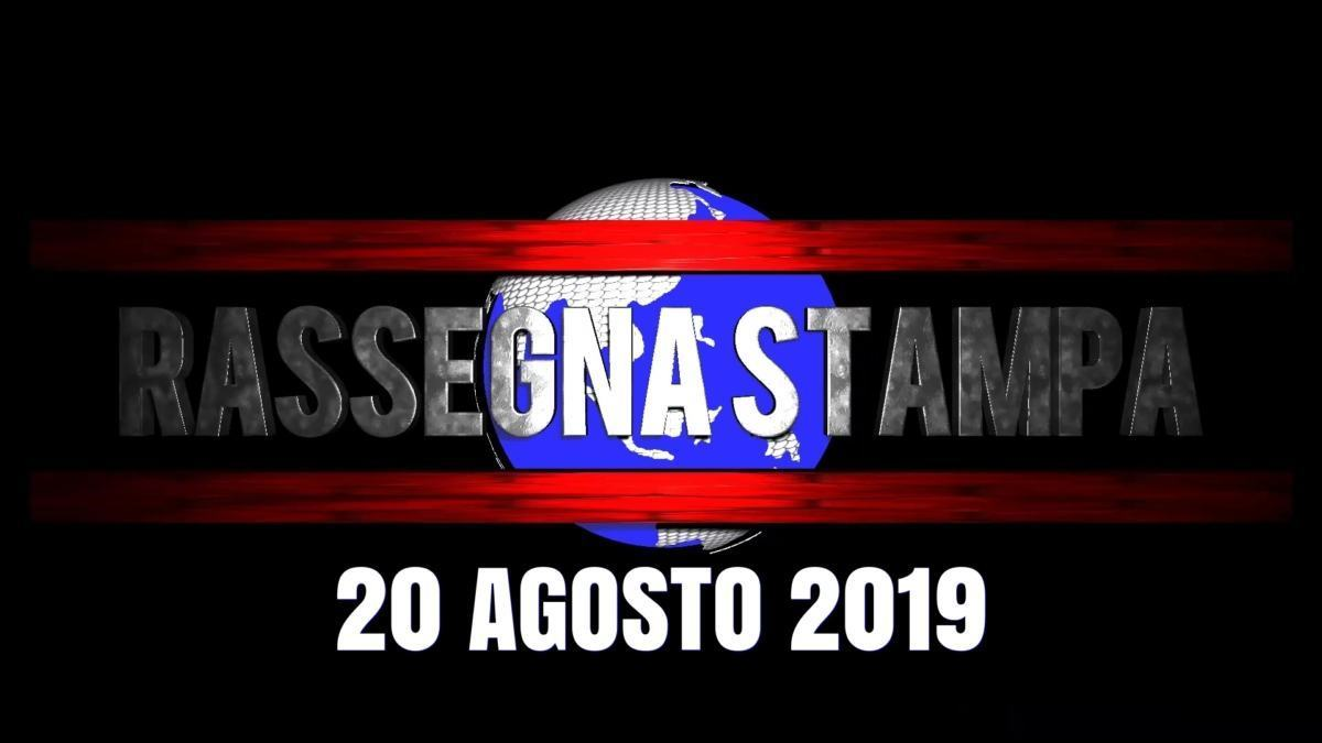 Rassegna stampa dell'Umbria martedì 20 agosto 2019 UjTV News24 LIVE