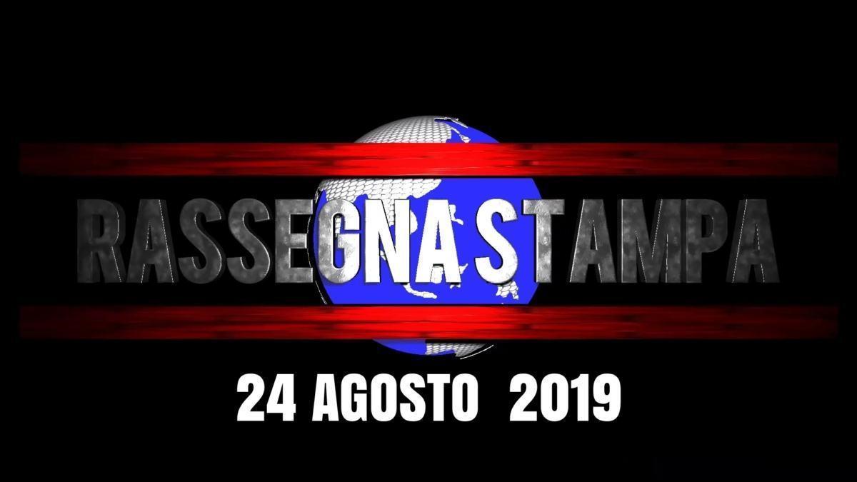Rassegna stampa dell'Umbria sabato 24 agosto 2019 UjTV News24 LIVE