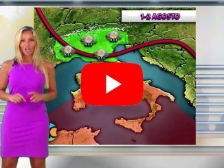Veronica Ursida Centro Meteo Italiano, video previsioni del tempo