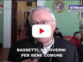Bassetti, presidente Cei, si governi per bene comune