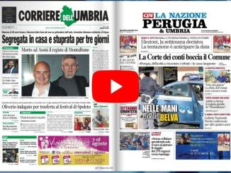 Rassegna stampa dell'Umbria martedì 6 agosto 2019 UjTV News24 LIVE
