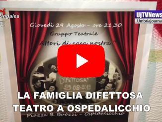 """Grande successo per gli """"Attori di casa nostra"""" in piazza ad Ospedalicchio"""