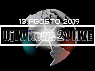 TG edizione della sera 13 agosto 2019 telegiornale dell'Umbria UjTV News24 LIVE