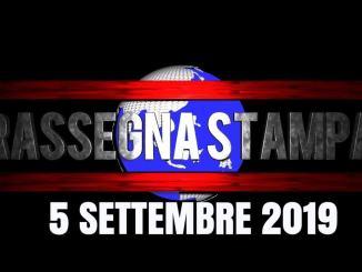 Rassegna stampa dell'Umbria 5 settembre 2019 UjTV News24 LIVE