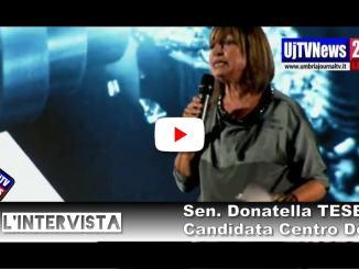 Donatella Tesei apre la campagna elettorale, elezioni Umbria |LIVE