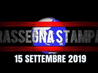 Rassegna stampa dell'Umbria 15 settembre 2019 UjTV News24 LIVE