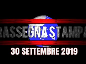 Rassegna stampa dell'Umbria 30 settembre 2019 UjTV News24 LIVE