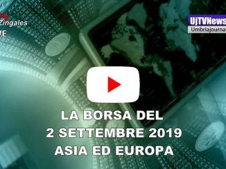 La Borsa del 2 settembre 2019, Tokio in calo, Borsa Milano apre positivo