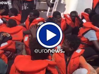 """Migranti: forza il blocco, sequestrata la nave ong """"Eleonore""""  Video dell'azione"""