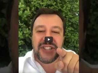 Matteo Salvini spara a zero contro PD e M5S, il video intero