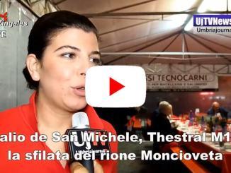Palio de San Michele, la sfilata del Rione Moncioveta