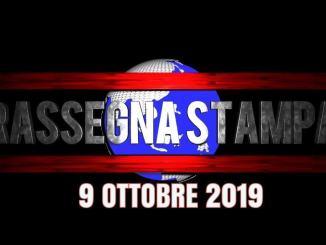 Rassegna stampa dell'Umbria 9 ottobre 2019 UjTV News24 LIVE