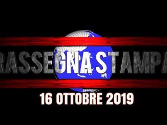 Rassegna stampa dell'Umbria 16 ottobre 2019 UjTV News24 LIVE