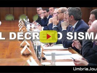 Decreto Legge sisma, approvato in Consiglio Ministri, video Palazzo Chigi