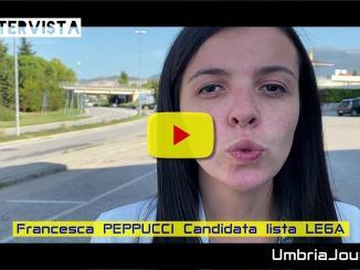 L'intervista con Francesca Peppucci candidata Lega parla del tutismo nella nostra regione