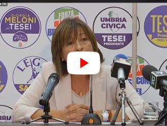 Conferenza stampa del Presidente Berlusconi, con Salvini e Meloni